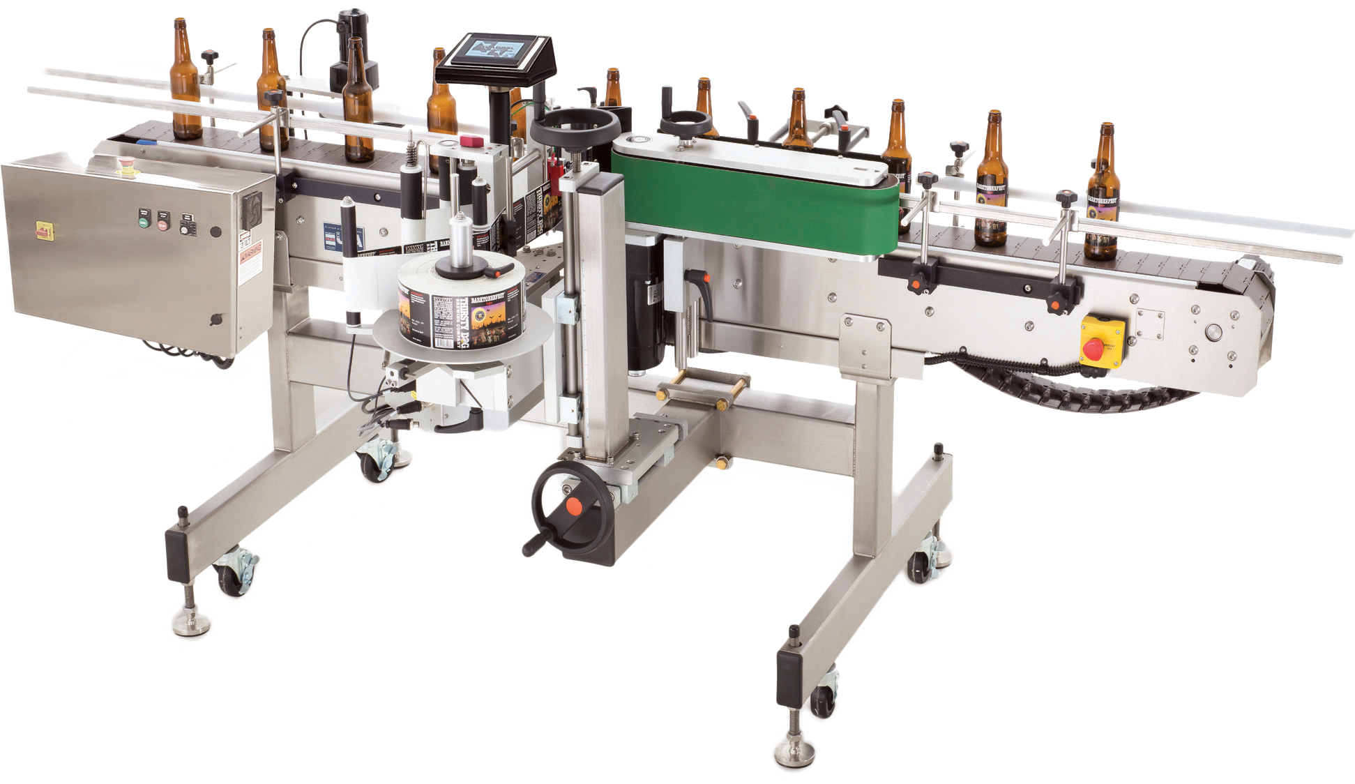 Fluid Solutions Series 3 Automatic Wrap Labeler™