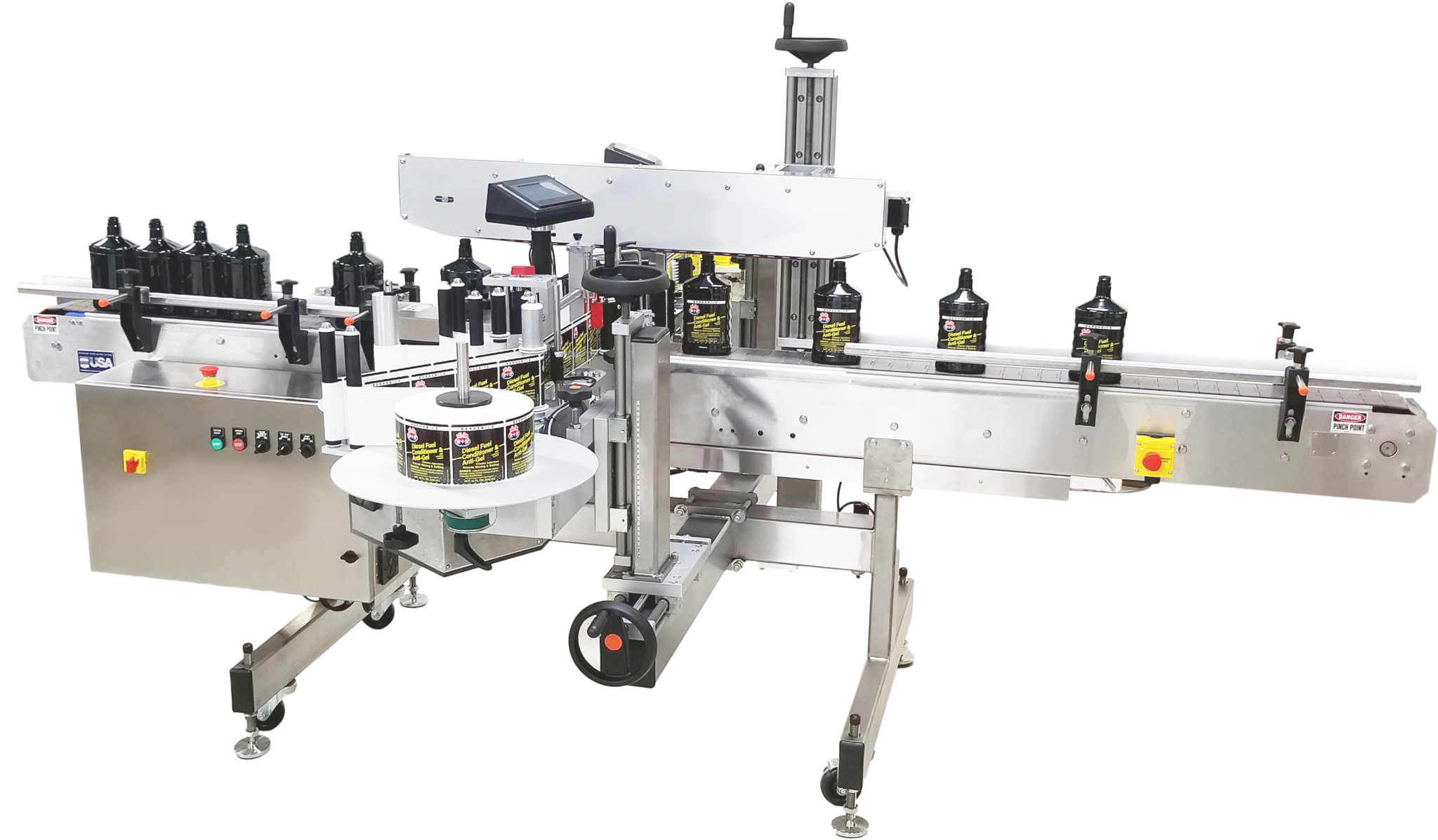 Fluid Solutions Series 3 Automatic Front Back Labeler™