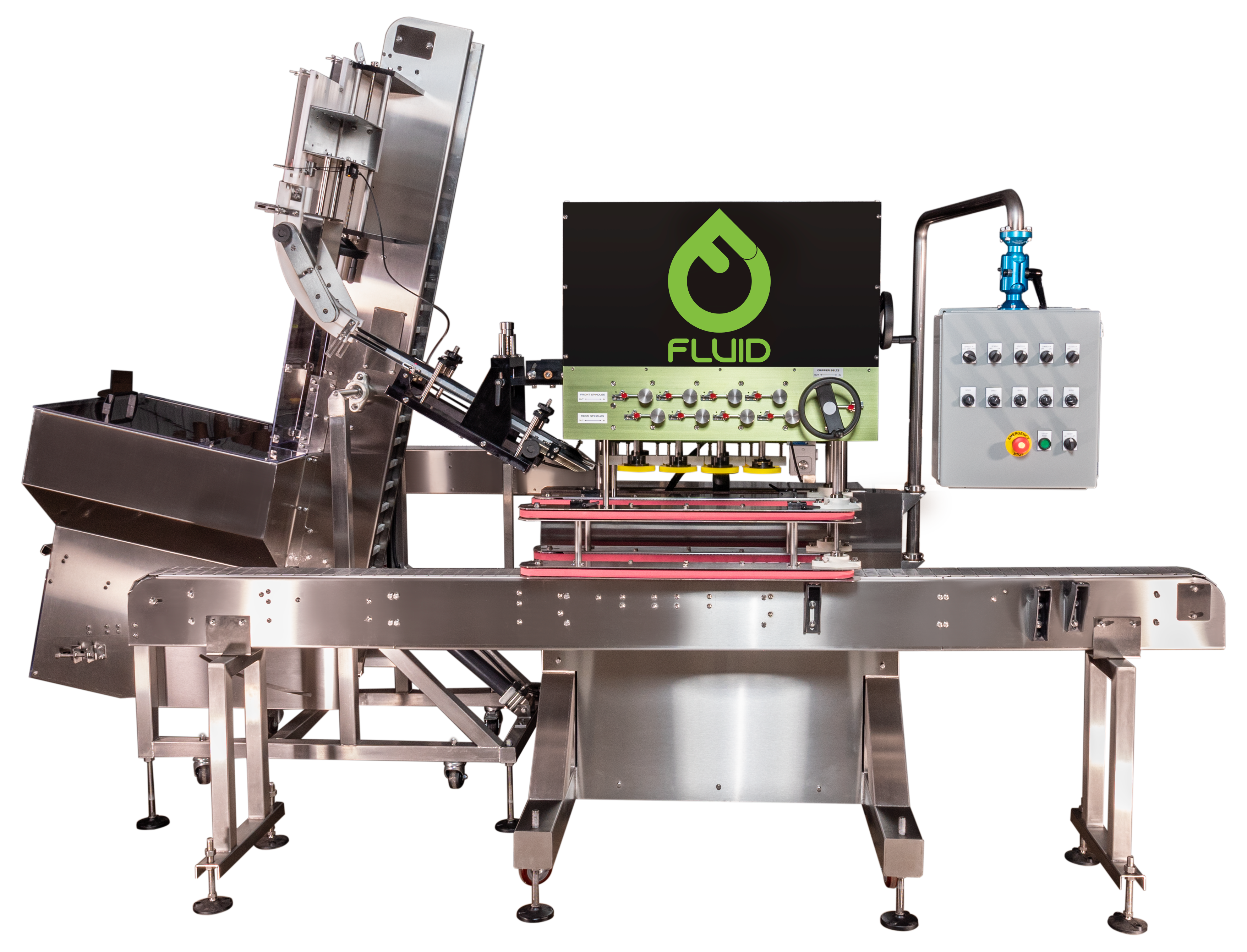 Fluid Automatic Capping Machine